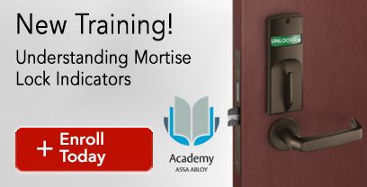 New Training! Understanding Mortise Lock Indicators